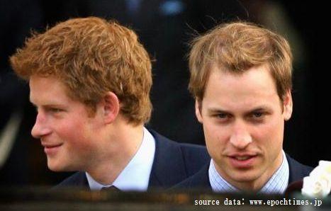 ウィリアム王子兄弟