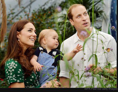 ウイリアム王子に第1子誕生