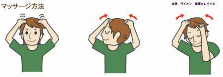 頭皮マッサージで頭皮を柔らかくして薄毛を防ぐ