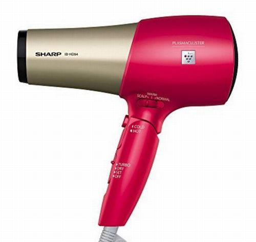 シャープはプラズマクラスターのドライヤーには育毛効果があるとプレスリリース