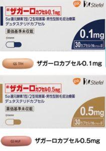 AGA治療薬のザガーロはカプセルで錠剤より飲みにくい