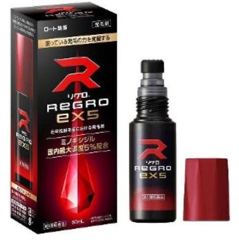 リグロEX5はロート製薬のリアップのジェネリック製品です